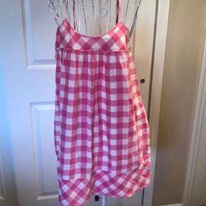 Victoria's Secret Pink Gingham Dress